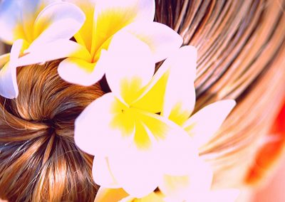 Frangipani Head Massage Therapy with Conditioning Treatment for Hair and Scalp
